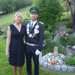 2010 Marcel Grunbach mit Frau Bianca, Helden