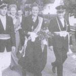 1950 Peter Struck und Frau Hedwig, Niederhelden
