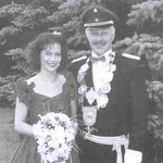 1990 Bernhard Menke und Frau Cilly, Mecklinghausen