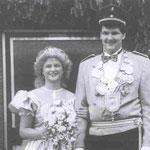 1988 Georg Steinberg und Frau Stephanie, Repe
