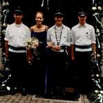 2001 Bernd Menke und Romina Heller, Mecklinghausen/Attendorn