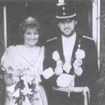 1985 Richard Dicke und Frau Petra, Repe