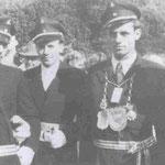 1953 Josef Vogt und Frl. Hanna Rüenauver, Helden