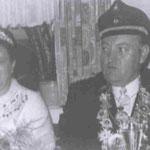 1970 Hubert Eckel und Frau Maria, Mecklinghausen