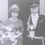 1976 Josef Schäfer und Frau Carla. Mecklinghausen
