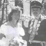 1989 Josef Schulte und Frau Petra, Niederhelden