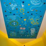 Sternenhimmel im Wartezimmer der Praxisräume in Köln-Riehl