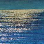 Befreiende Weite (60x70 cm,  Acryl Mischtechnik) verkauft