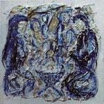 Noël (20x20 cm, Acryl Mischtechnik /Papier) verkauft