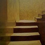 Aufwärts (118x88 cm, Acryl Mischtechnik) unverkäuflich
