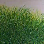 Green grass of home (74x77 cm, Acryl) verkauft