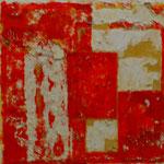 Fantasia (40x40 cm, Acryl Mischtechnik)