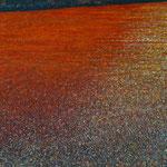 Am Ende der Wüste (70x100 cm, Acryl Mischtechnik)