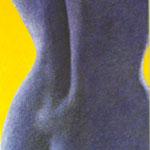 Auch ein Rücken kann ... (120x88 cm, Acryl Mischtechnik) unverkäuflich