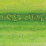 Garten Eden 2 (40x40 cm, Acryl Mischtechnik/Karton)