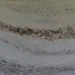 Lichtstrasse (55x63 cm, Acryl Mischtechnik)