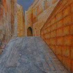Mezzogiorno (100x110 cm, Acryl Mischtechnik)