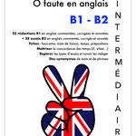 LIVRE ZERO FAUTE EN ANGLAIS - B1-B2 - INTERMEDIAIRE