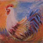 70 - Le Coq - pastels 2015 CADEAU
