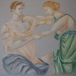 24 - La danse - pastels 2013  - dimensions 50x65 - non encadré