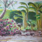 43 - Aperçu jardin Sébqstien - pastels 2014