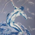 34 - L'homme et l'univers - pastels 2013 - dimensions 50x65 - non encadré