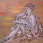 53 - La belle endormie - pastels 2015