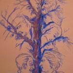 80 - L'arbre de vie - pastels 2016