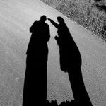 das Schattenpaar wächst zusammen