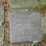 Stolperstein für Emma Krüger in Berlin-Alt-Lichtenrade