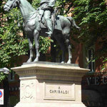 Denkmal für Guiseppe Garribaldi in Bologna, Italien