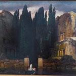 Arnold Böcklin: Dike Toteninsel,   Museum der bildenden Künste, Leipzig