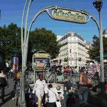 Hector Guimar, Metro Paris