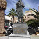 Anastasios Mantakas (1817 - 1916), kretssicherrt Befreiungskämpfer gegen die türkischen Besetzer