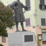 Denkmal für den ersten griechischen König der Neuzeit, Otto I. in der ersten Hasuptstadt Nauplia