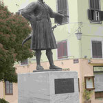 Denkmal für den ersten griechischen König der Neuzeit, Otto I. in der ersten Hauptstadt Nauplia