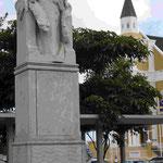 Denkmal für Königin Wilhelmina der Niederlande in Curacao
