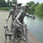 Erinnerung an die Schleusenspucker von Rathenow