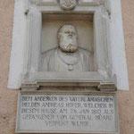 Denkmal für den Freiheitskämpfer Andreas Hofer in Meran, Südtirol