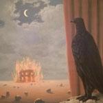 René Margritte, Gaspard de la nuit, Sammlung Scharf-Gerstenberg, Nationalgalerie Berlin