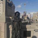 Diese Frau belauschte US - Truppen und warnte ihre kandischen Landsleute vor dem Angriff, Ottawa