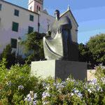 Denkmal für den kroatischen König Petar Kresimir IV. 1058 - 1074 in Sibenik, Kroatien