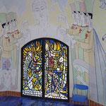 Jean Cocteau, Chapelle Notre Dame de Jerusalem, Frejus, Südfrankreic