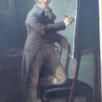 Anton Graff: Selbstbildnis vor Staffelei, 1806,   Museum der bildenden Künste, Leipzig