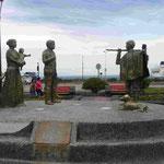Denkmal für deutsche Einwanderer in Puerto Montt, Chile