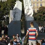 Alfred Hridlicka: Mahnmal gegen Krieg und Faschismus, Wien 1988
