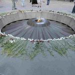 Das Denkmal für den Genozid an 1.5 Mio Armeniern in Eriwan