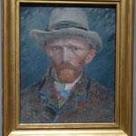Selbstbildnis, van Gogh,  Rijksmuseum, Amsterdam