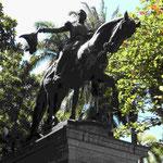 Denkmal für Simon Bolivar in Cartagena de Indias/Kolumbien