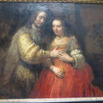 Die jüdische Braut, Rembrandt,  Rijksmuseum, Amsterdam